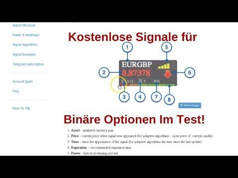 recenzii ale semnalelor de opțiuni binare