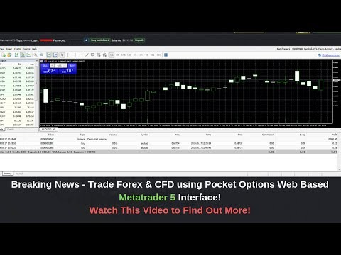 Pocket Option Forex Trading Review - Pocket Option as Metatrader 5 Forex Broker