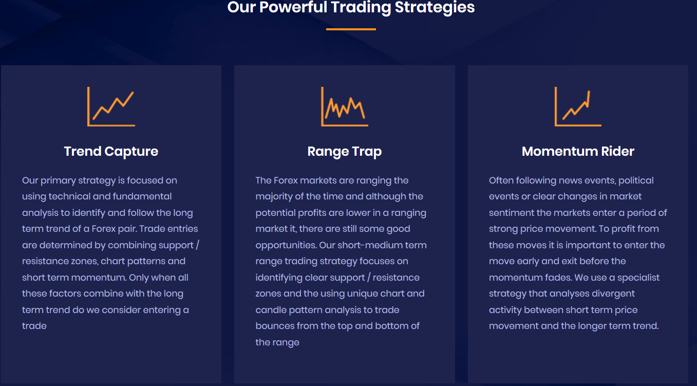 1000PipBuilder Traded Strategies